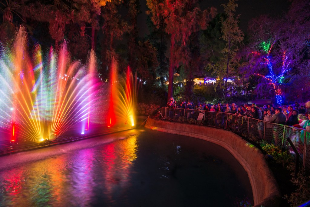 Holiday lights at the L.A. Zoo
