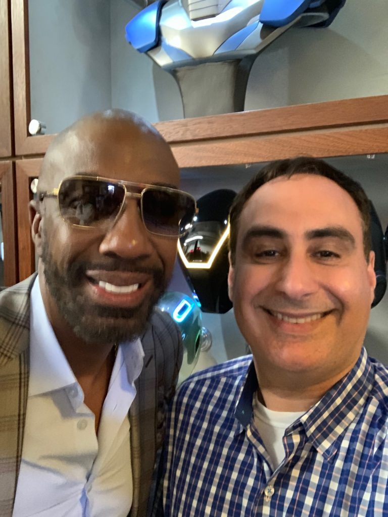 Houman and JB Smoove