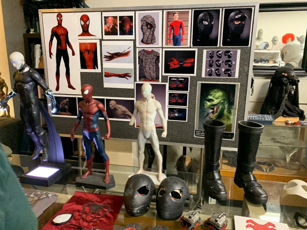Props from Spiderman Far from Home