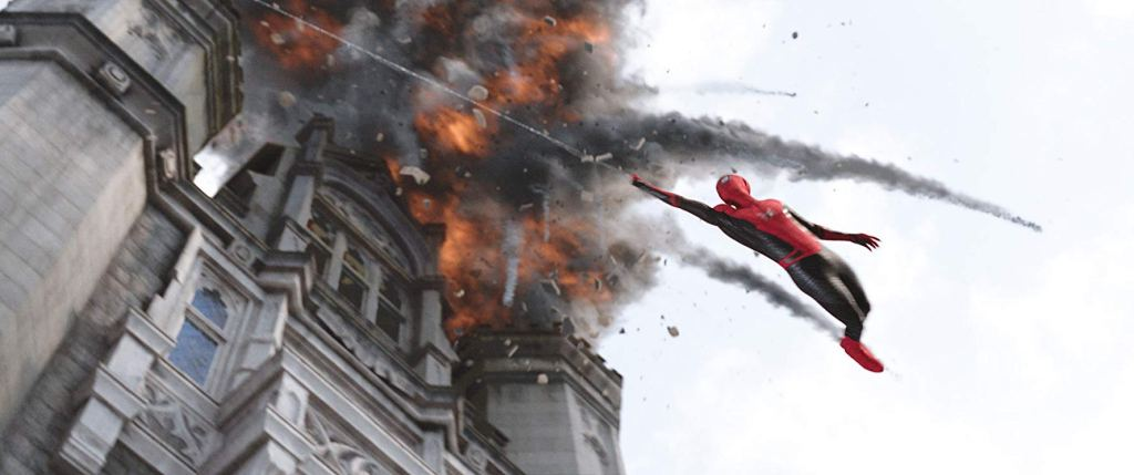 Scene from Spider-Man Far From Home