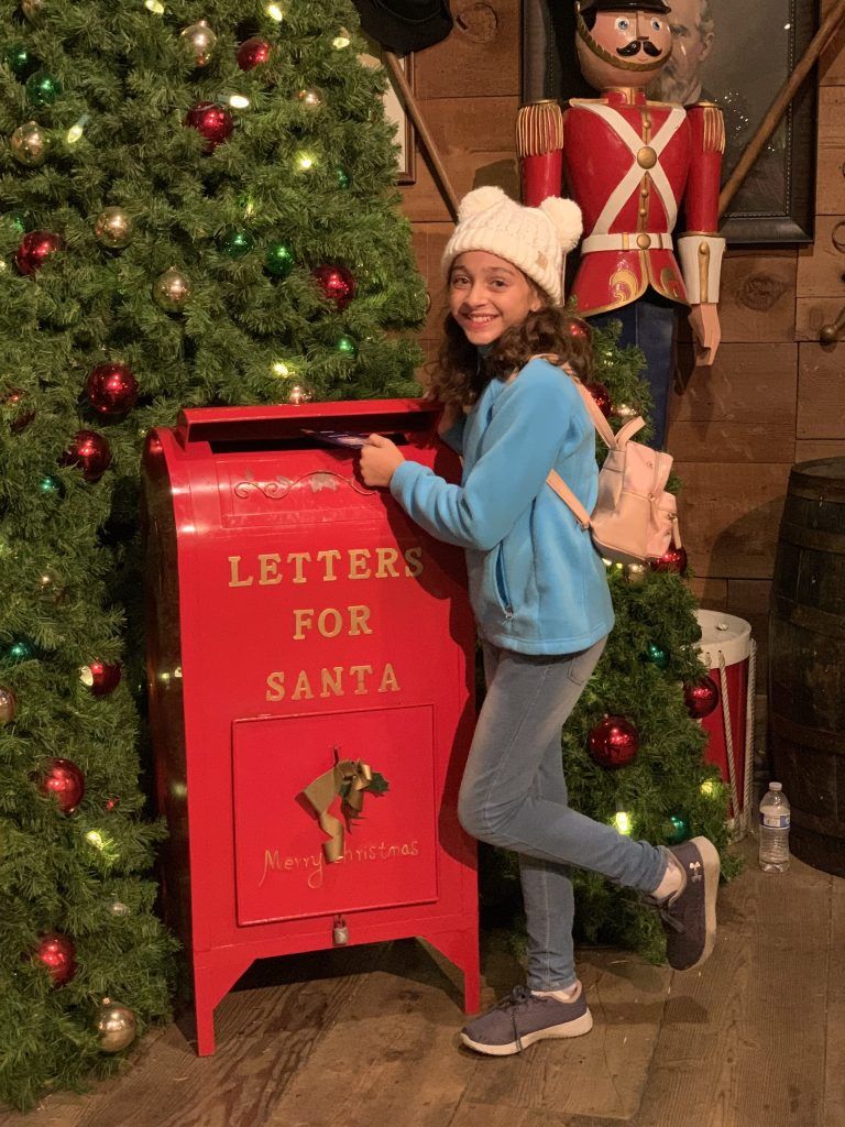 Letter to Santa at Knott's Merry Farm