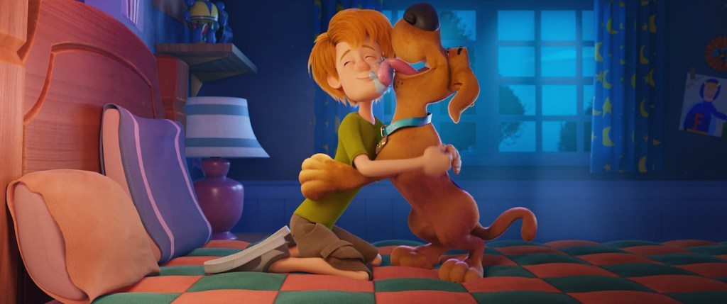 Young Shaggy in Scoob