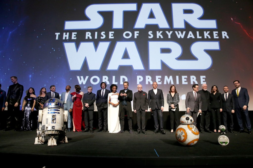 "World Premiere Of ""Star Wars: The Rise of Skywalker"""