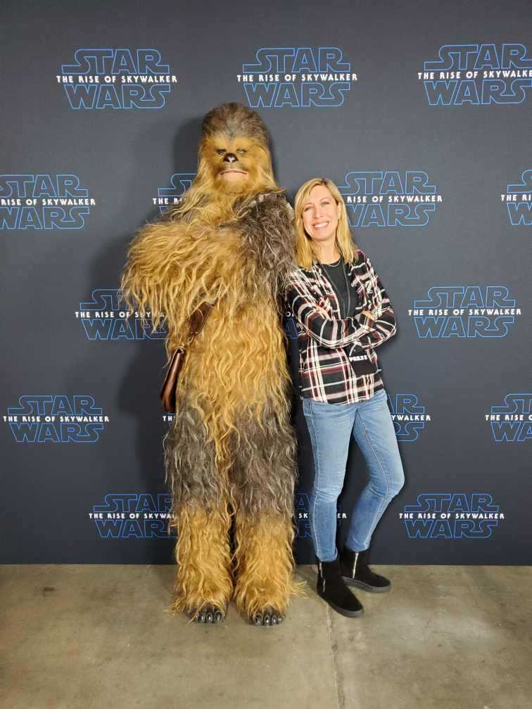 Chewy in The Rise of Skywalker