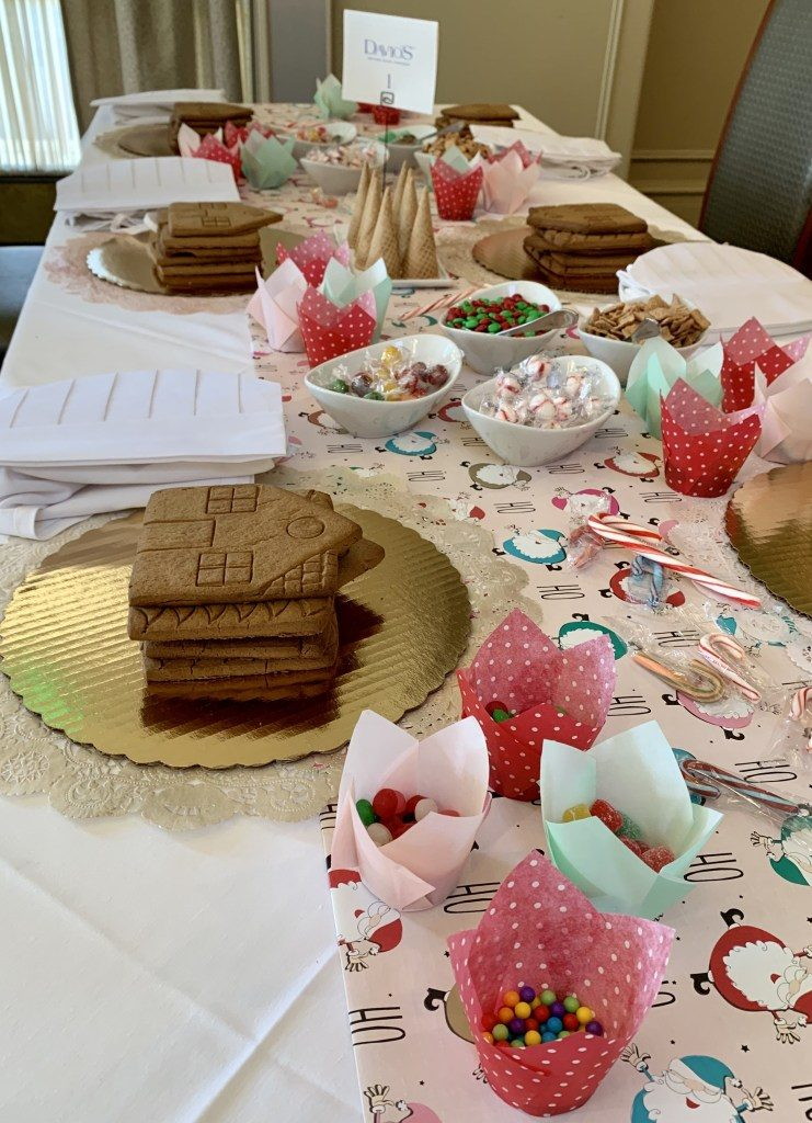 Orange County Gingerbread House event