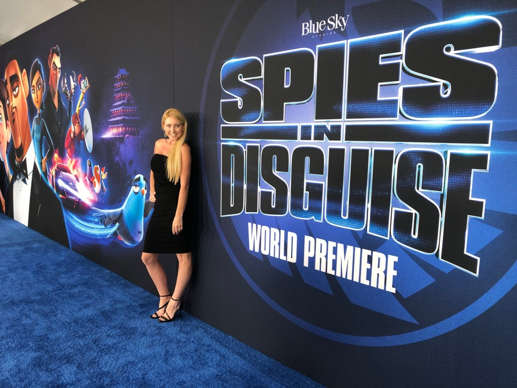 Shelby Barone at the premiere of Spies in Disguise