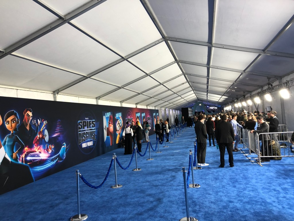 Spies in Disguise premiere