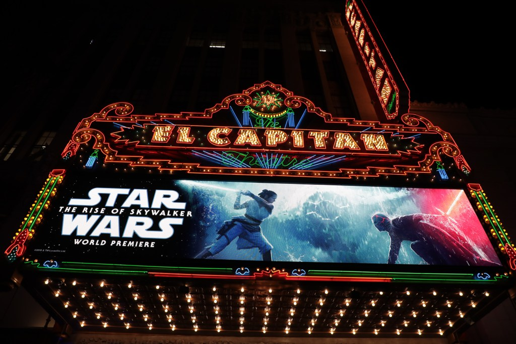 Star Wars: The Rise of Skywalker at the El Capitan Theatre