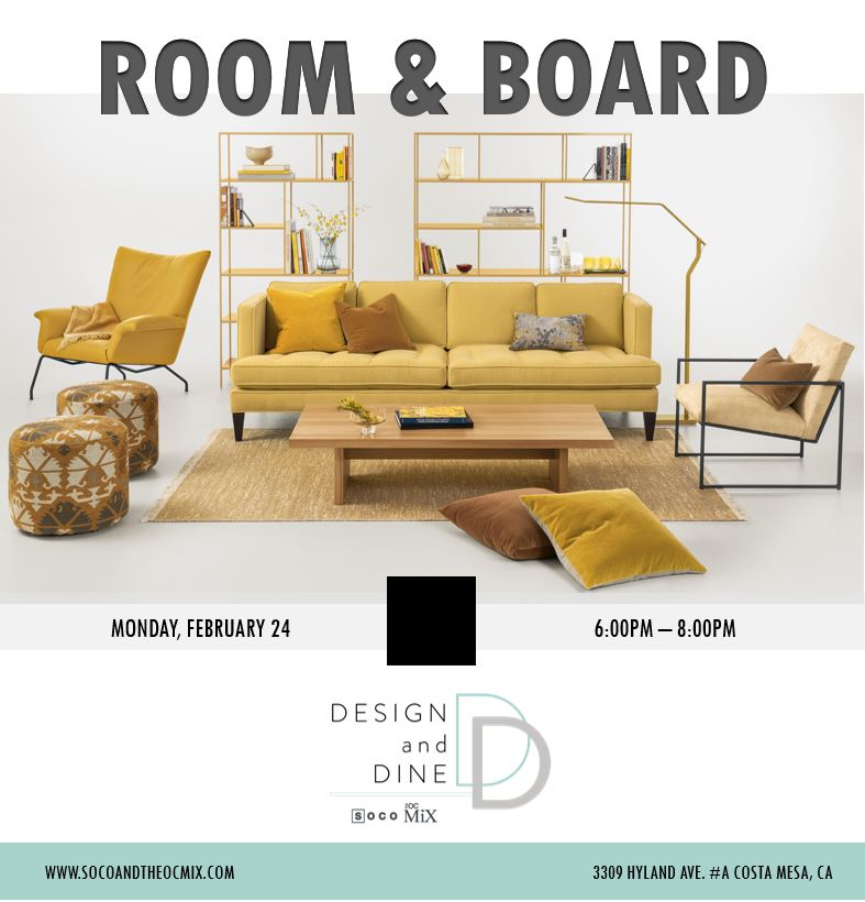 Room and Board Event