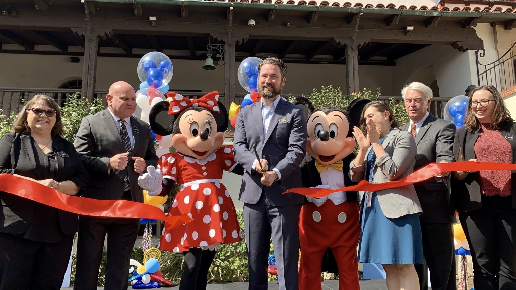 Grand opening of Disney Exhibit at Bowers Museum