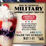 A Free Farrell's Treat For Military