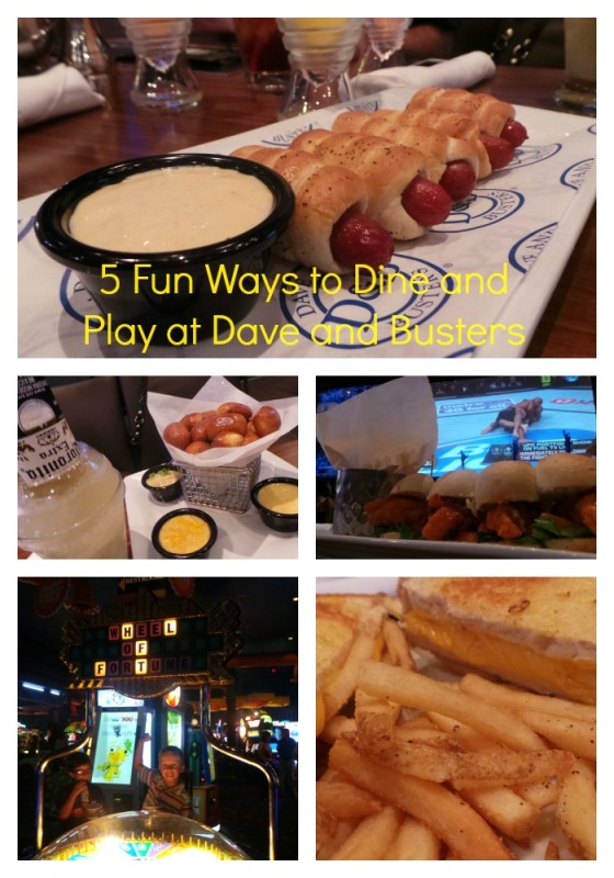 dine and play at dave and busters