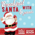 Whole Foods Breakfast with Santa