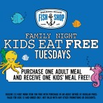 Kid's Eat Free on Tuesday at the Hermosa Beach Fish Shop