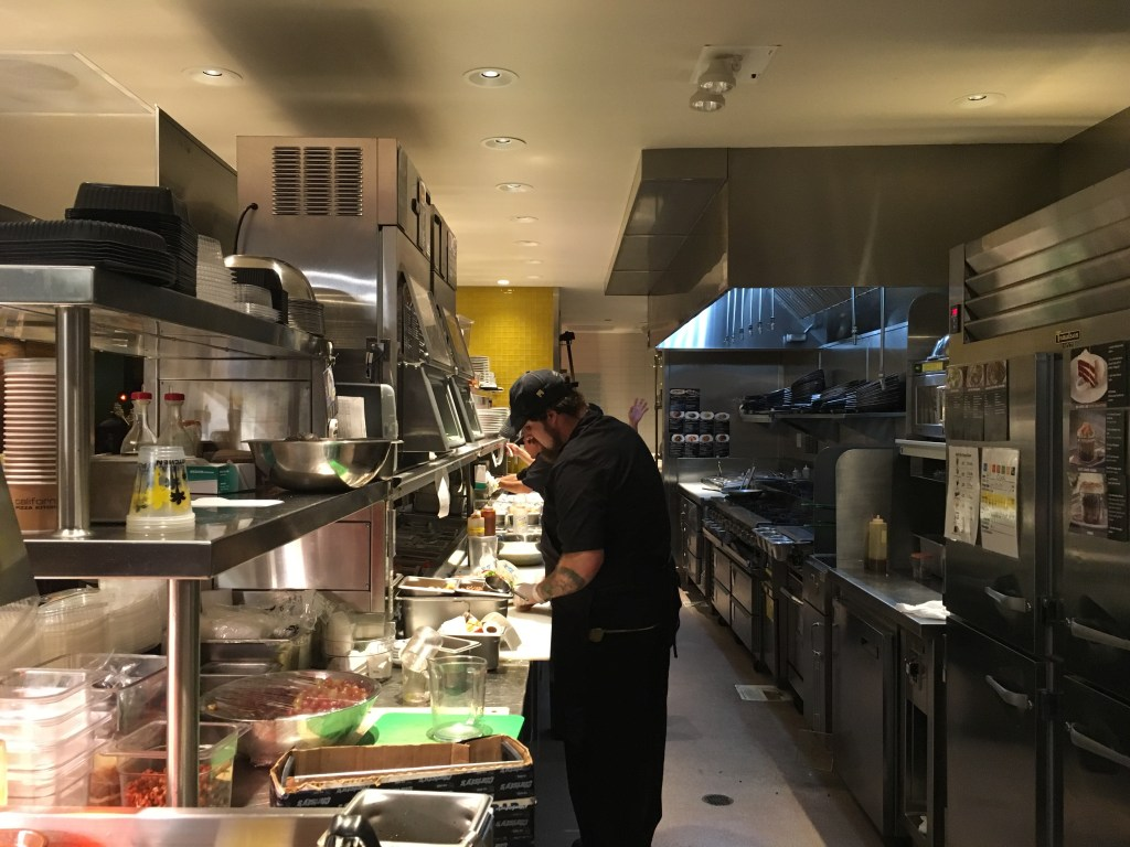 In the CPK kitchen
