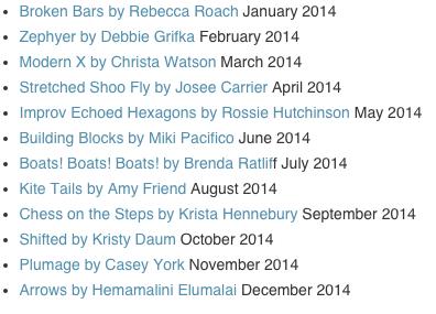 2014 Patterns
