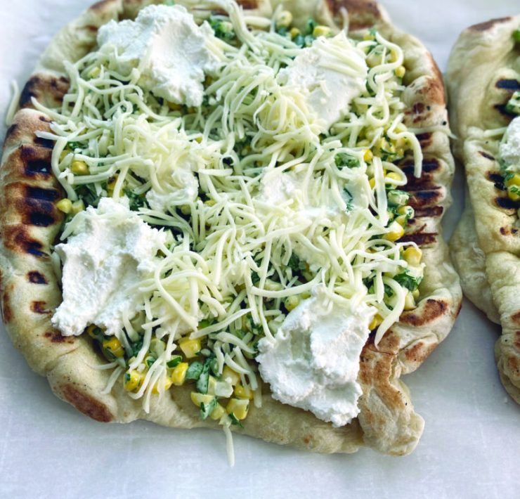 Mexicorn Grilled Pizza