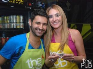 Carlos Eduardo e Juliana Carnevalli
