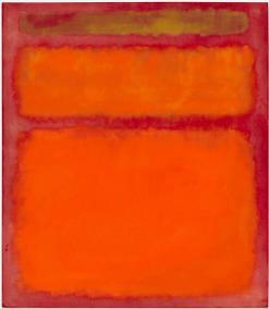 Mark Rothko, 'Orange, Red, Yellow' 1961