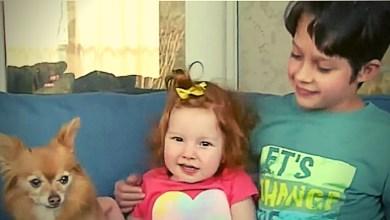 Menino de 8 anos salva irmã