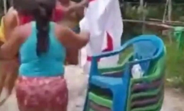 Crianças são resgatadas