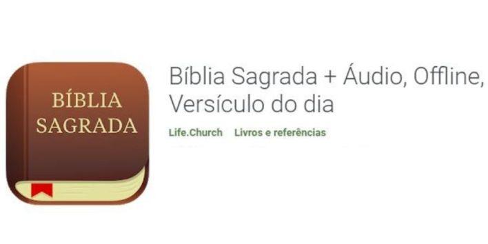 App Bíblia Sagrada no Celular