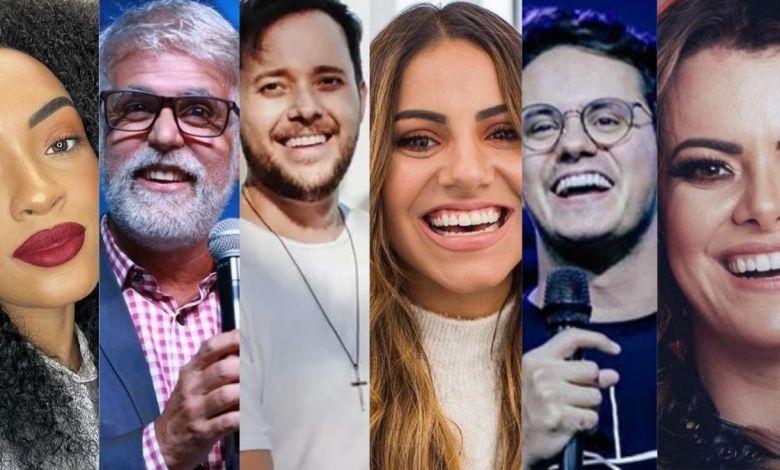 Artista gospel influentes nas redes sociais