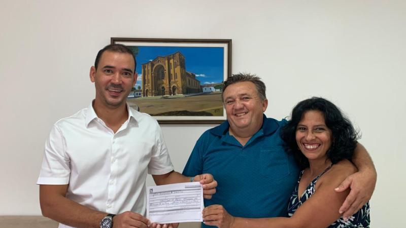 PL filia José Aucimário e lança sua pré-candidatura em Brejinho de Nazaré