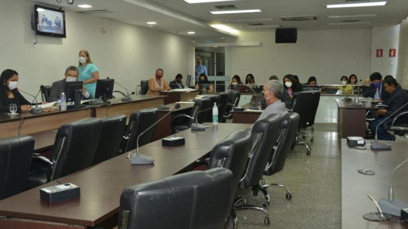 CCJ aprova decretos de calamidade e uso obrigatório de máscara no TO