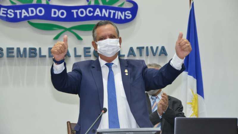 Antônio Andrade é reconduzido à presidência da Casa de Leis por unanimidade