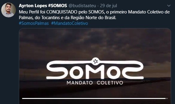 """Movimento SOMOS lança pré-candidatura e """"conquista"""" redes sociais em Palmas"""
