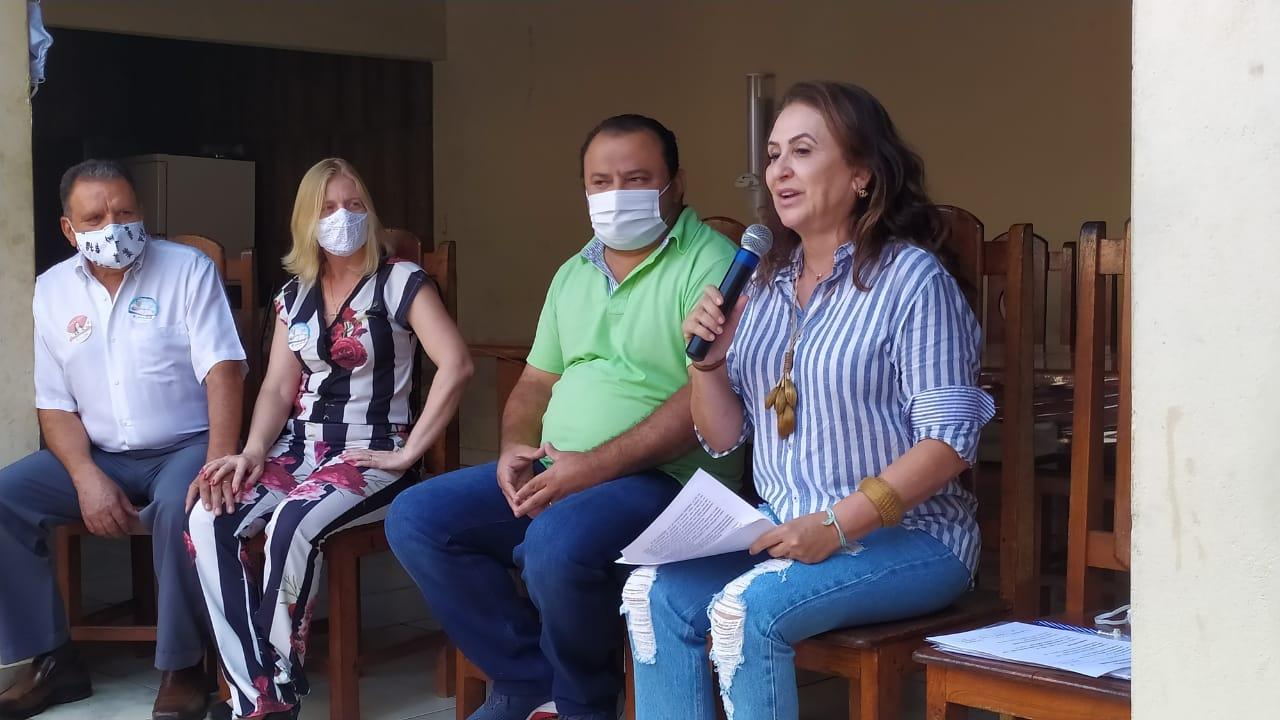 Senadora Kátia Abreu vai a Ponte Alta do Tocantins e reafirma seu apoio a Kleber do Sacolão e Juliana