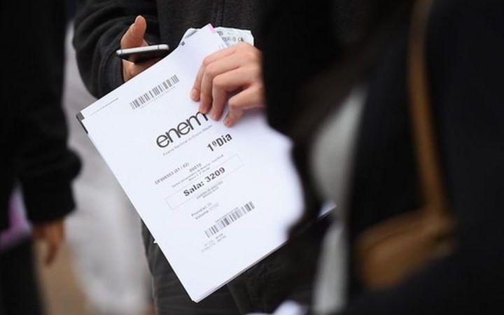 Abstenção recorde: 51,5% dos inscritos no Enem não comparecem ao exame