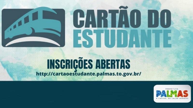 Inscrições para seleção do Programa Cartão do Estudante 2021 seguem abertas até segunda, 22
