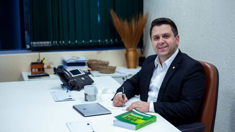 Tiago Dimas é o novo coordenador da bancada federal do Tocantins