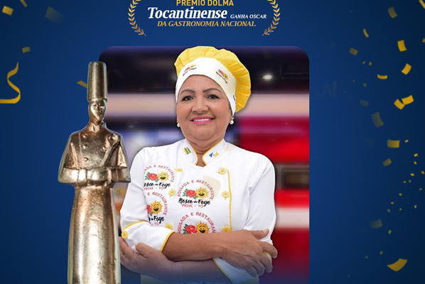 Chefe Rosa de Fogo ganha Prêmio Dólmã, Oscar  da gastronomia brasileira