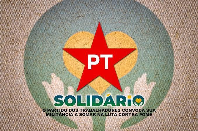 Partido dos Trabalhadores faz campanha de arrecadação de alimentos; saiba como doar em Palmas
