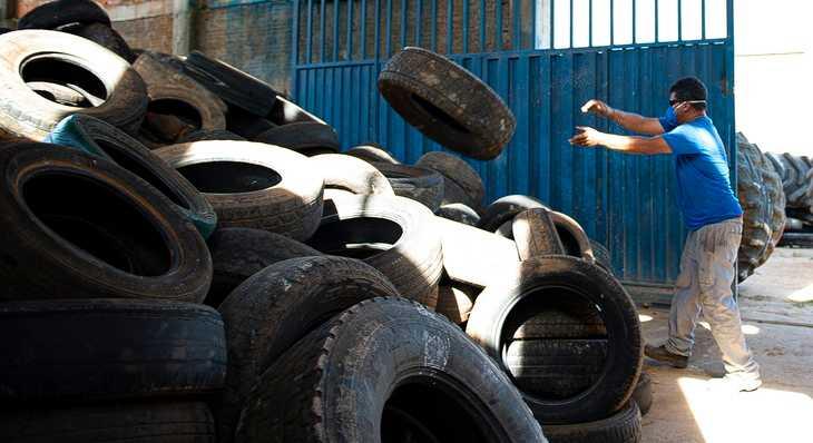Paraíso e Pedro Afonso estabelecem convênio para destinação adequada de pneus usados