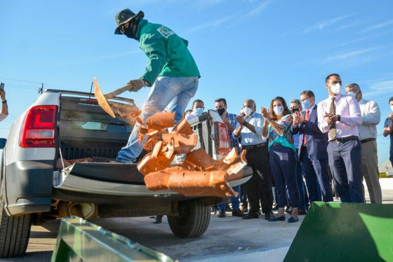 Goiânia inicia atividades no terceiro ecoponto para descarte de lixo