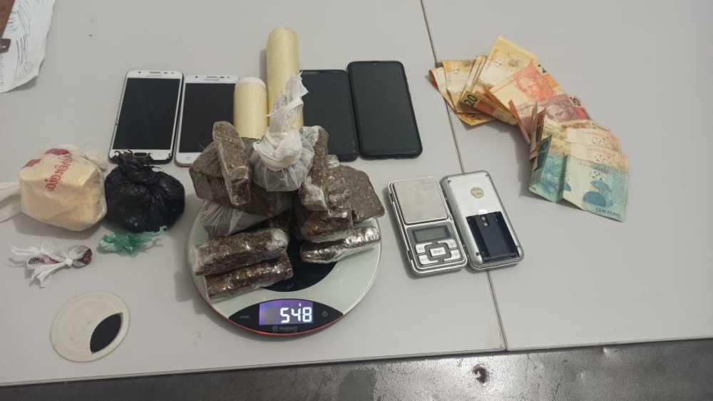 Homem é preso em flagrante por tráfico de drogas na região sul de Palmas
