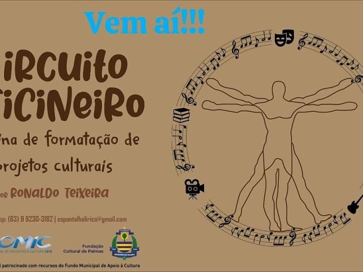 Circuito Oficineiro: projeto aprovado no Promic abre inscrições em Palmas