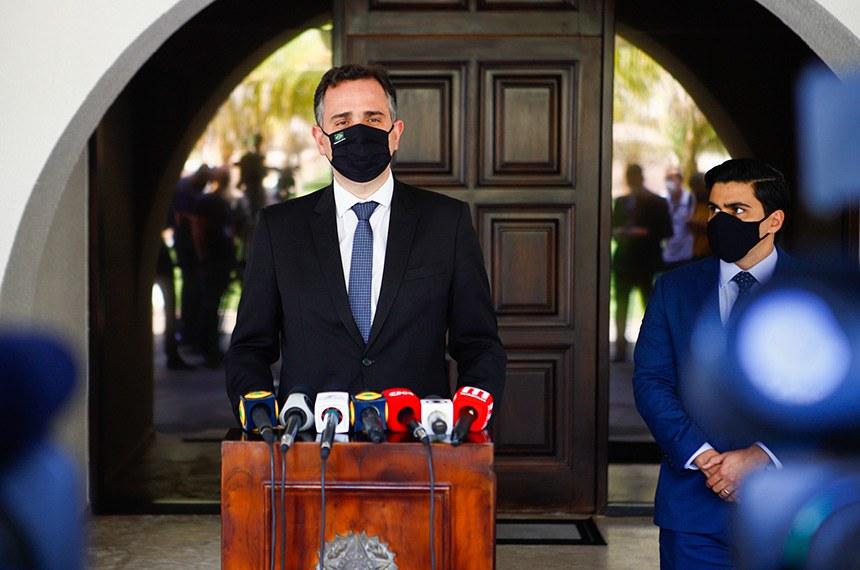 CPI da Pandemia será instalada após feriado, anuncia presidente do Senado