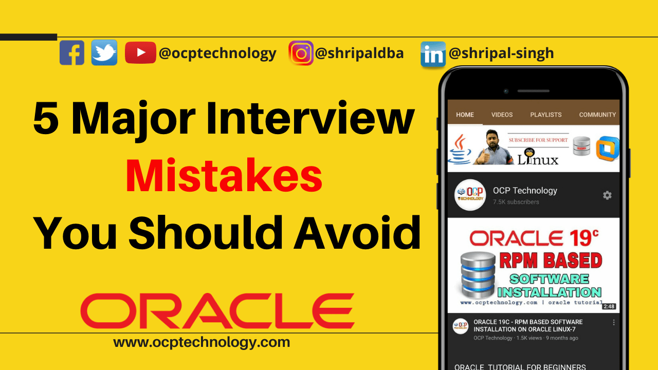 5 Major Interview Mistakes You Should Avoid