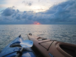 Evening kayaking. Photo by T.L. Grace