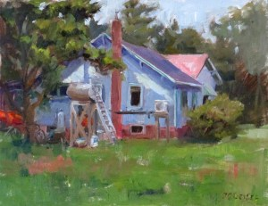 Jenn's Grandparents' House 11x14