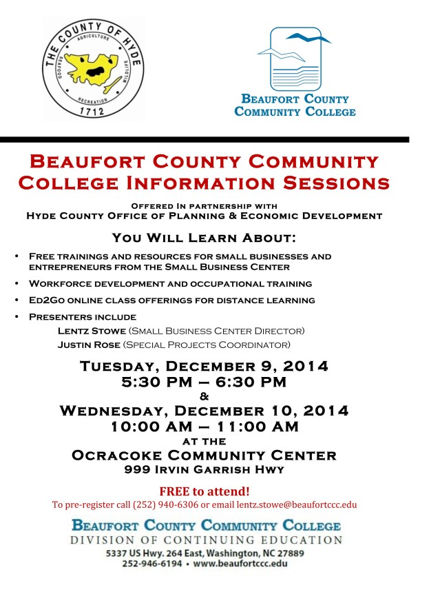 Microsoft Word - BCCC info session on Ocracoke December 2014.doc