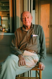 Portrait of Leonard Meeker. 2005. Photo by Oliver White.