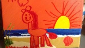 Essie painting