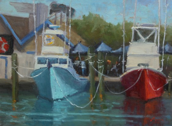 Dock Buddies by  Suzanne Morris.