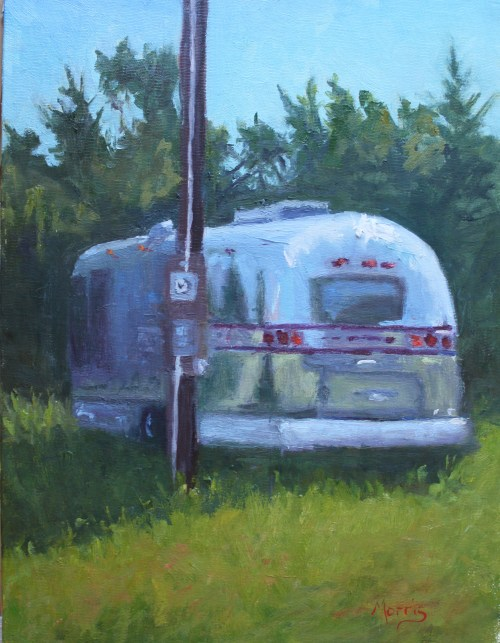 Ocracoke Airsteam by Suzanne Morris.